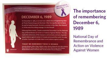 Remembering December 6, 1989
