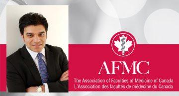 AFMC awards Dr. Gurdeep Parhar & Faculty of Medicine