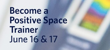Become a Positive Space trainer