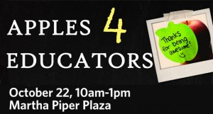 Apples 4 Educators – Show your appreciation with an apple!