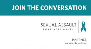 January is Sexual Assault Awareness Month at UBC