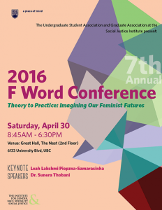The 7th Annual F Word Conference