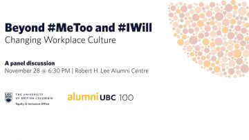 Beyond #MeToo and #IWill: Changing Workplace Culture