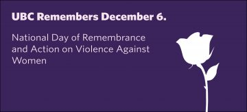 UBC Remembers December 6th