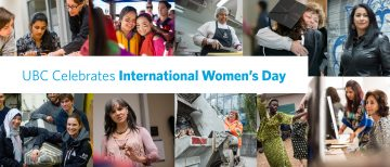 UBC Celebrates International Women's Day